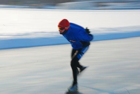 Lonesome skater