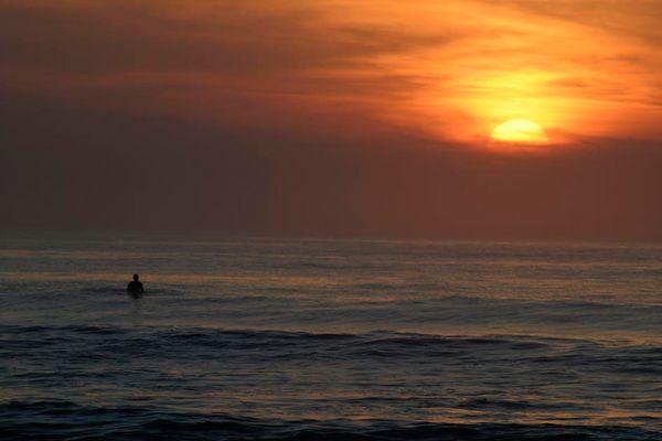 Lonesome Surfer