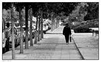 lonesome walking man