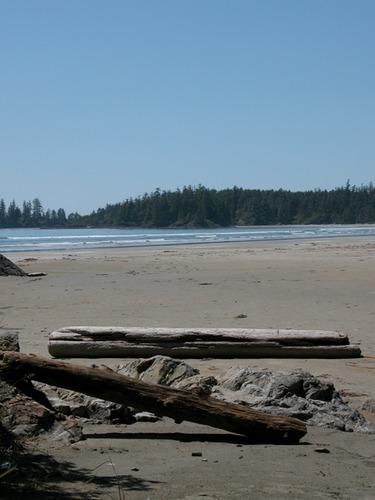 Long Beach auf Vancouver Island BC