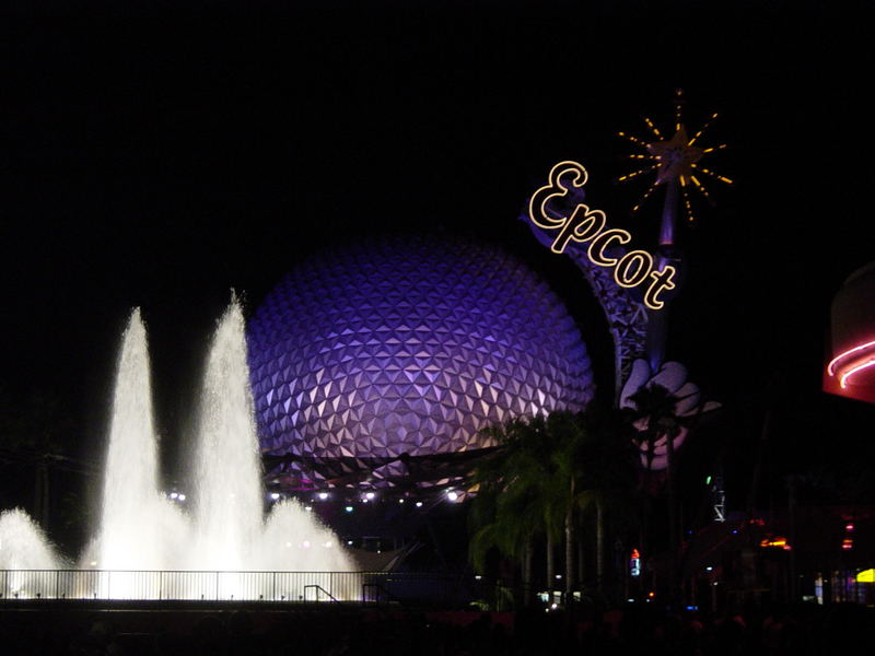 Long Day at Epcot Center