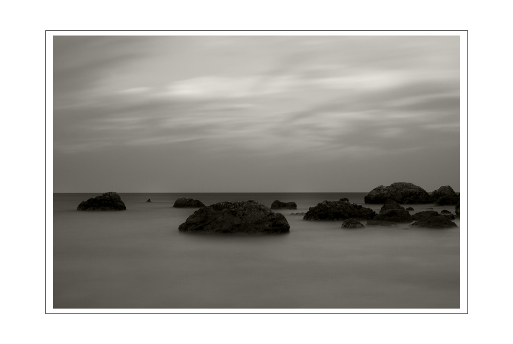long exposures in black&white #1
