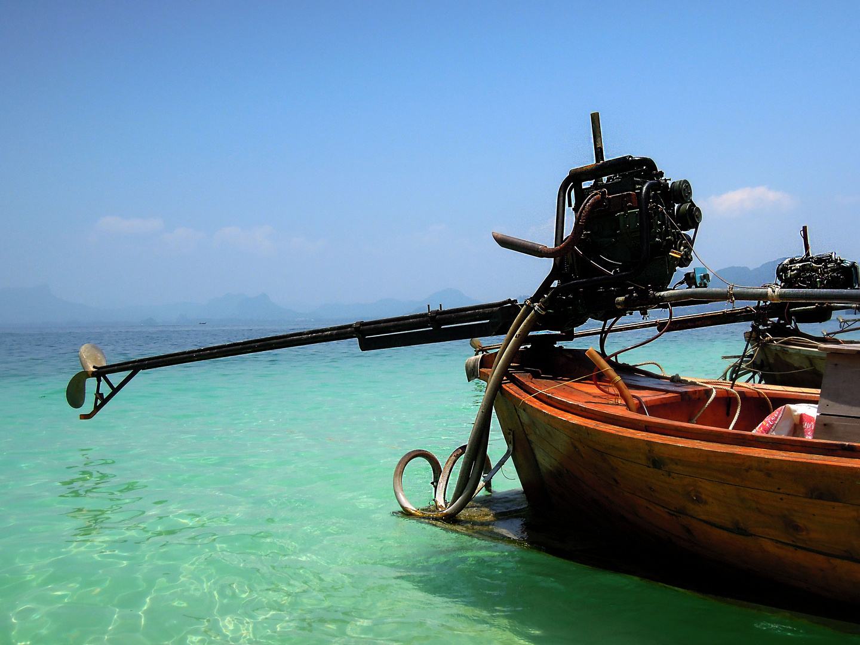 Longtailboot bei Krabi