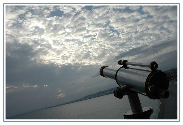 Longue vue au grand angle