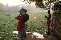 Look at the Sun ... in Kerala -Indien +REISETEXT