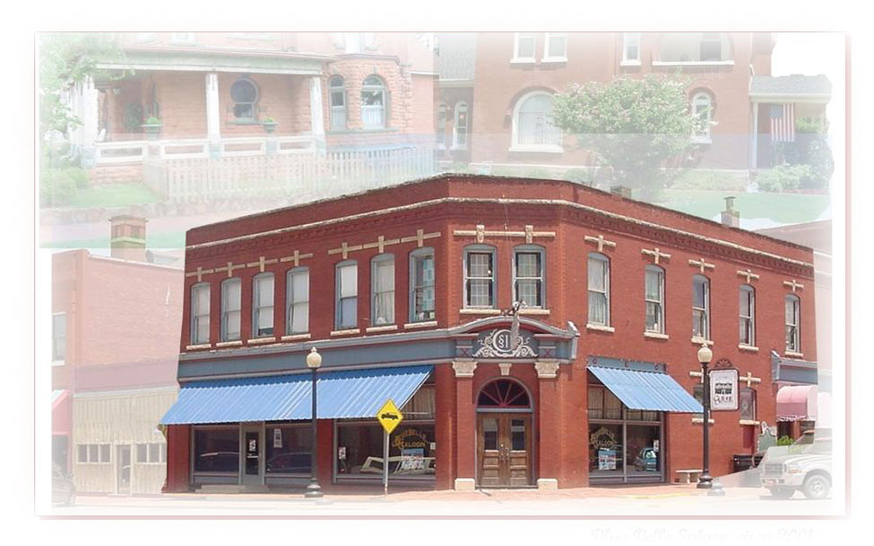 Looking Back In Time, Blue Belle Saloon circa 2002