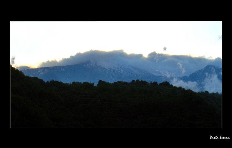 L'ora blu sull'Etna