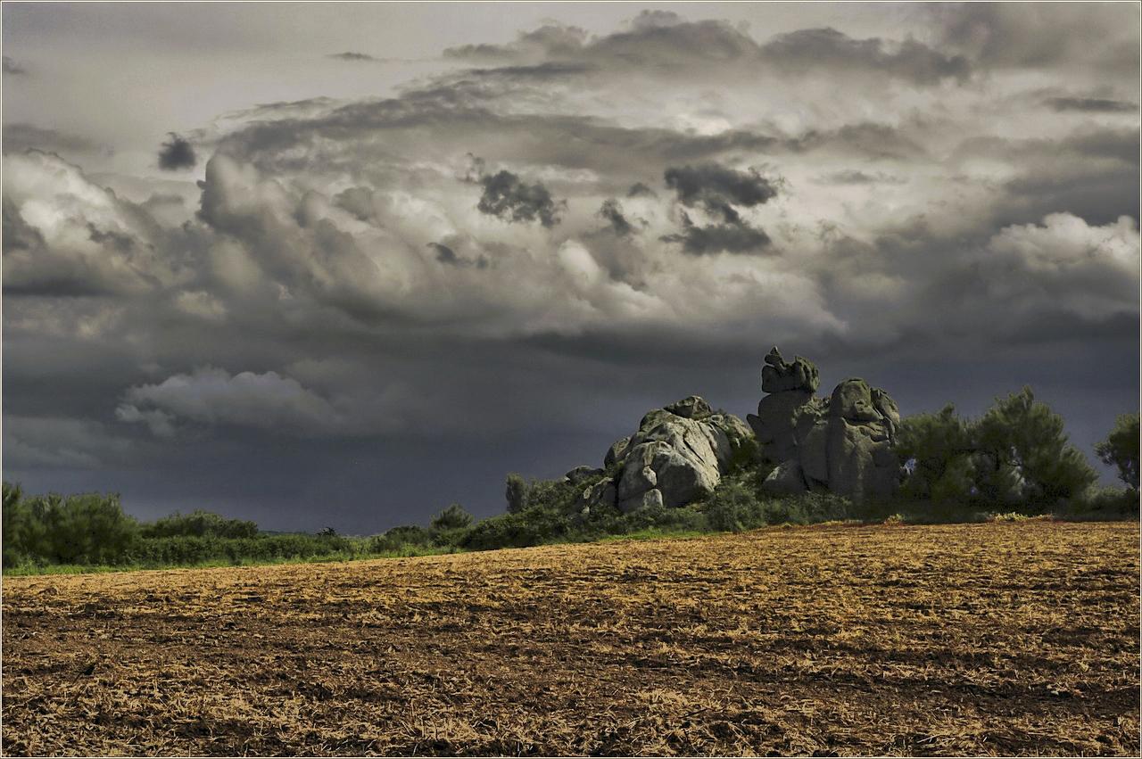 L'orage arrive