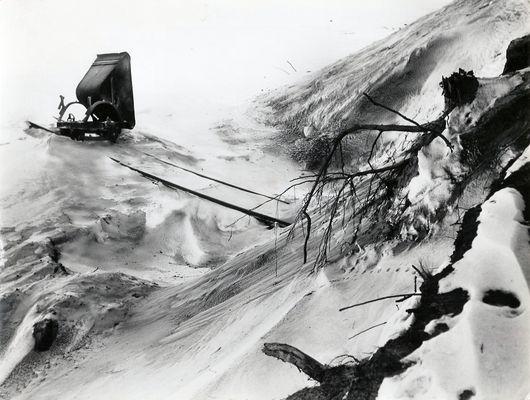 Lore - Kipplore - im Schnee - 1946