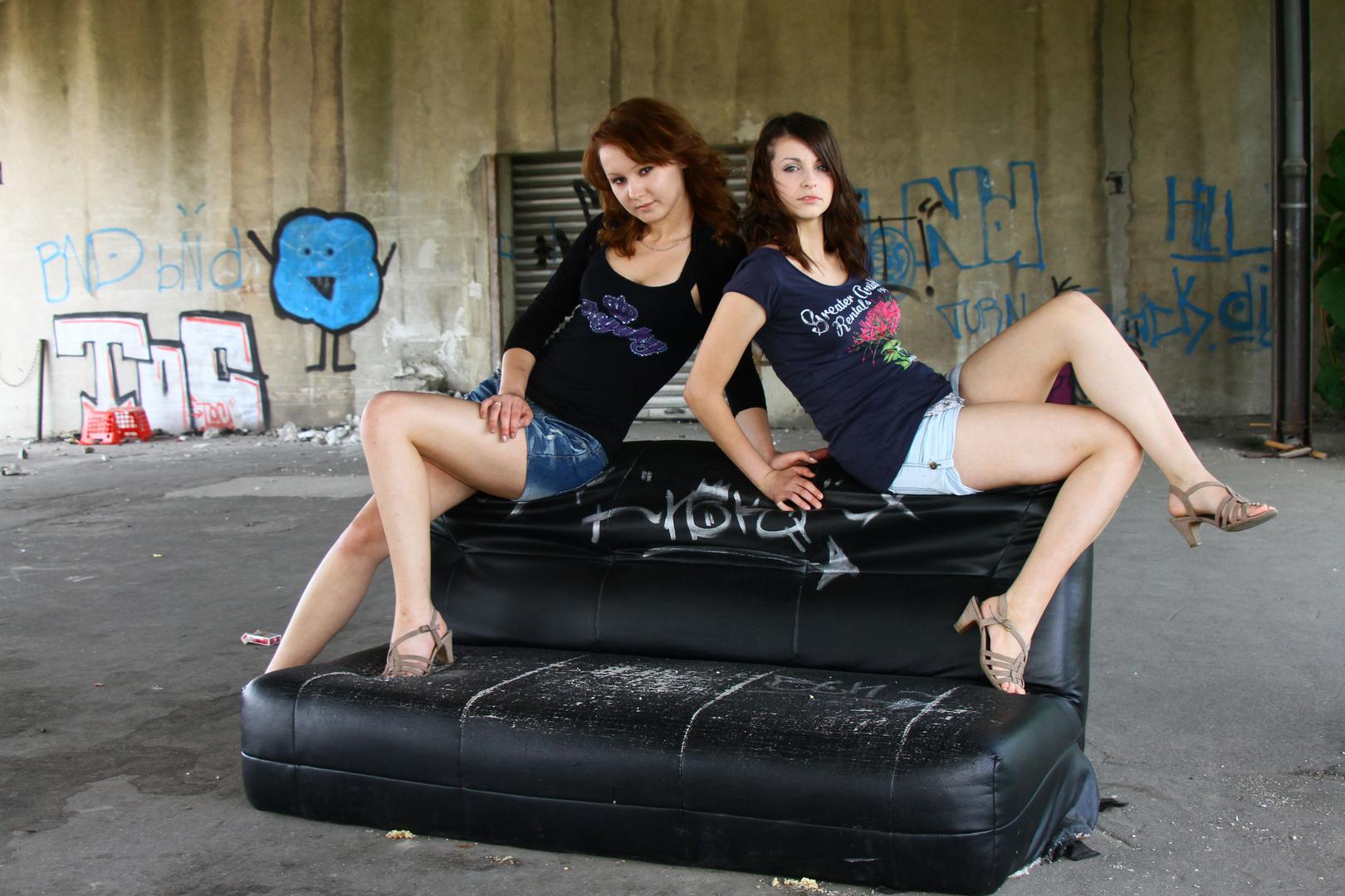Loredana und Lilly (1)