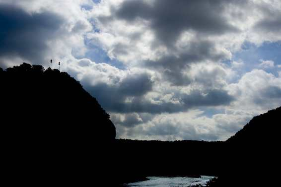 Loreley in Wolken