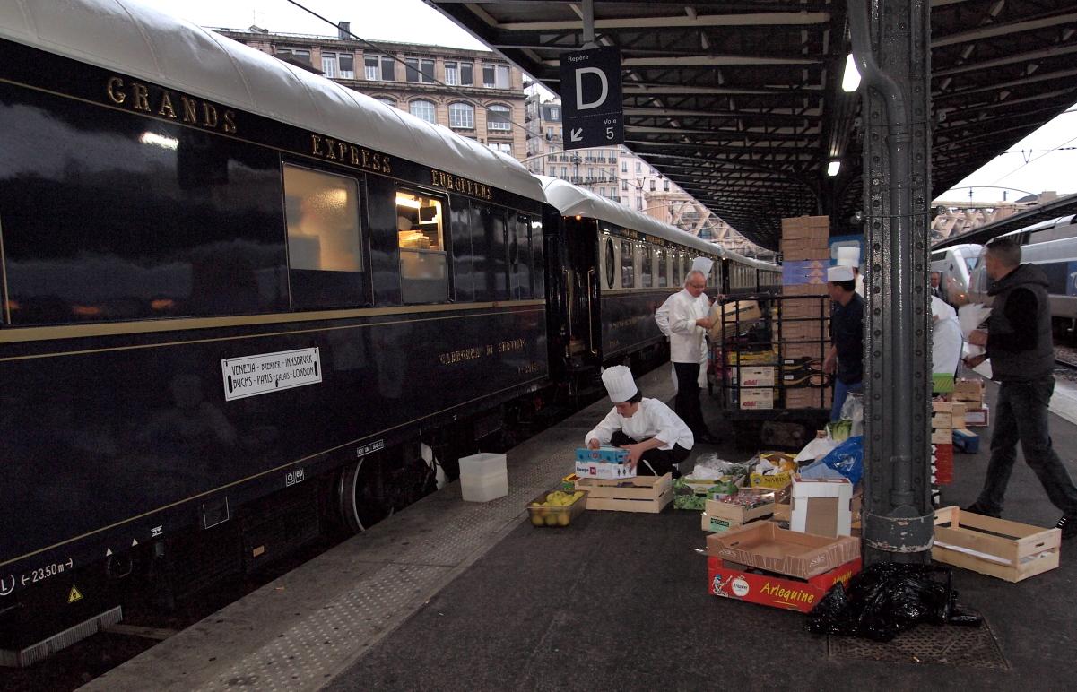 L'Orient Express fait son marché...
