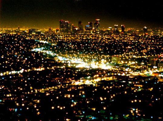 Los Angeles bei Nacht