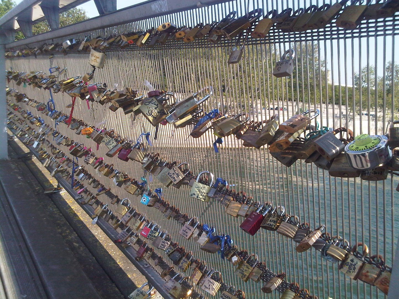 Los Candados del amor (Paris)