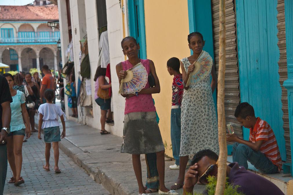 los colores de La Habana Vieja