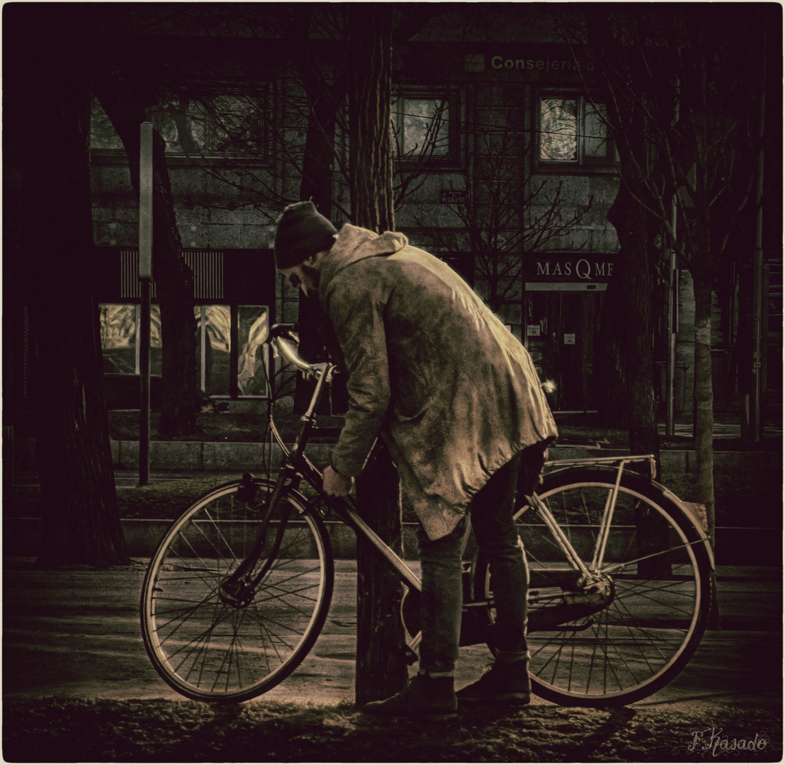 Los Domingos en Bicicleta( A Ana Iglesias)