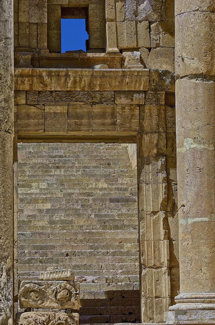 Los Escalones del Templo