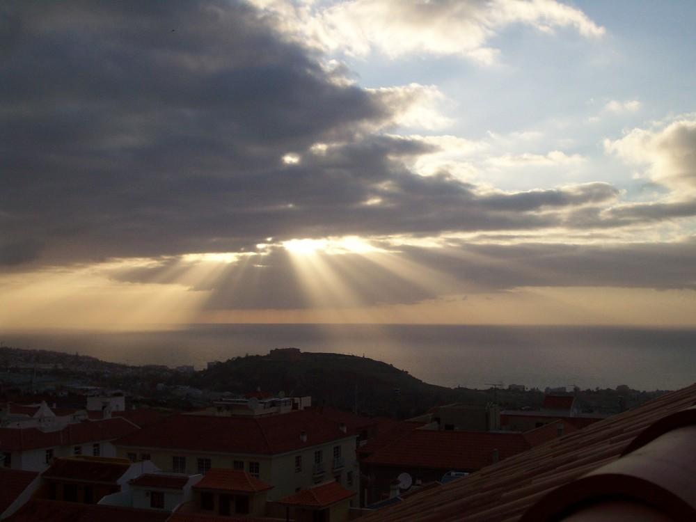 Los focos del cielo