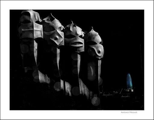 Los guerreros de Gaudí (1)
