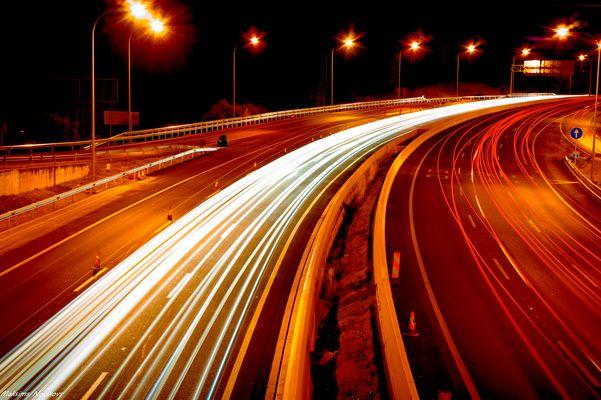 los hilos de la carretera