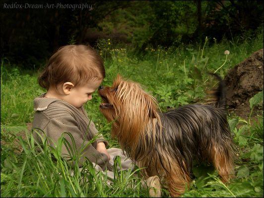 """""""los mejores amigos del bebé................"""""""