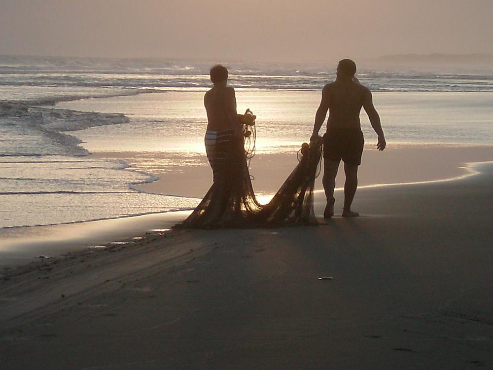 los pescadores de red
