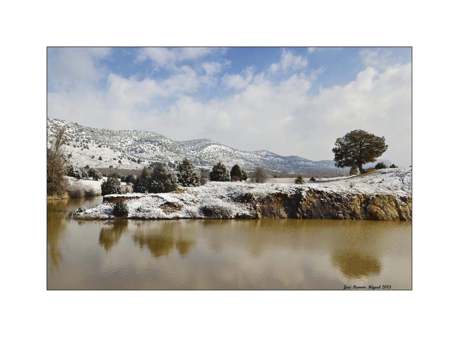 Los sabinares nevados. 3