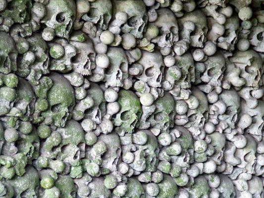 L'ossuaire du cimetière Saint Hilaire (Meuse)