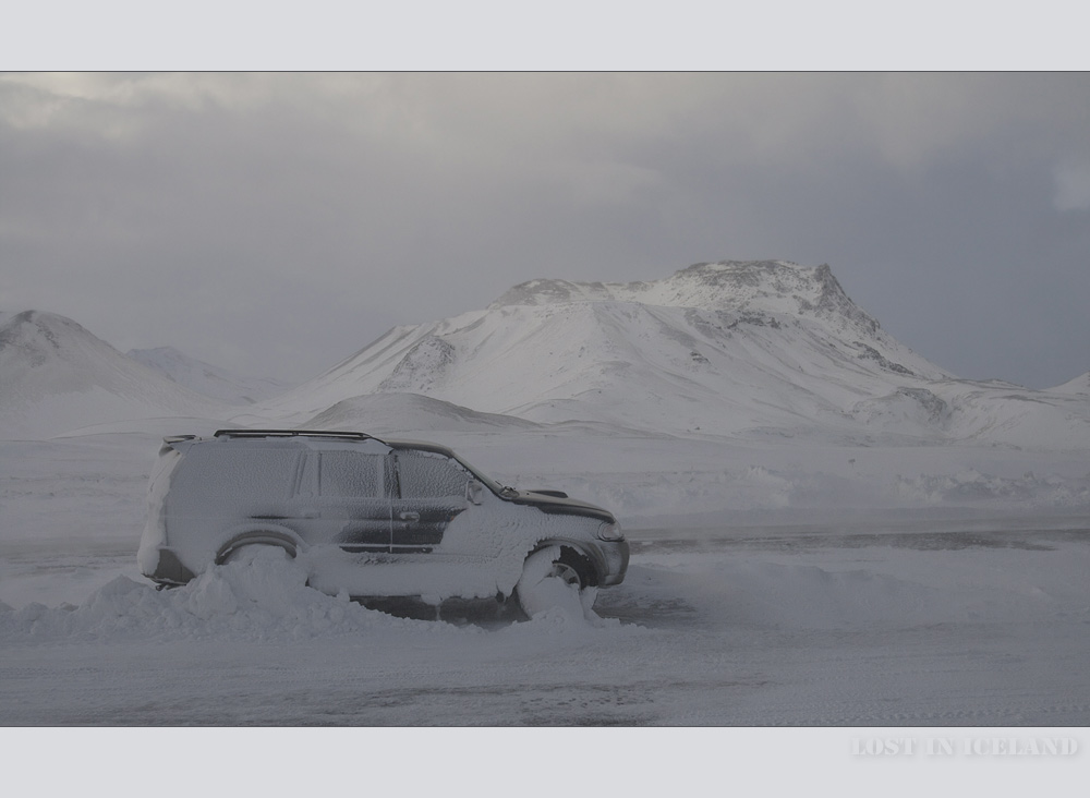 Lost in Iceland / ONE
