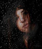 Lost in the rain.