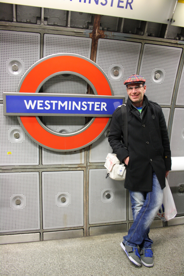 """.....lost in the Tube"" Ostern 2012"