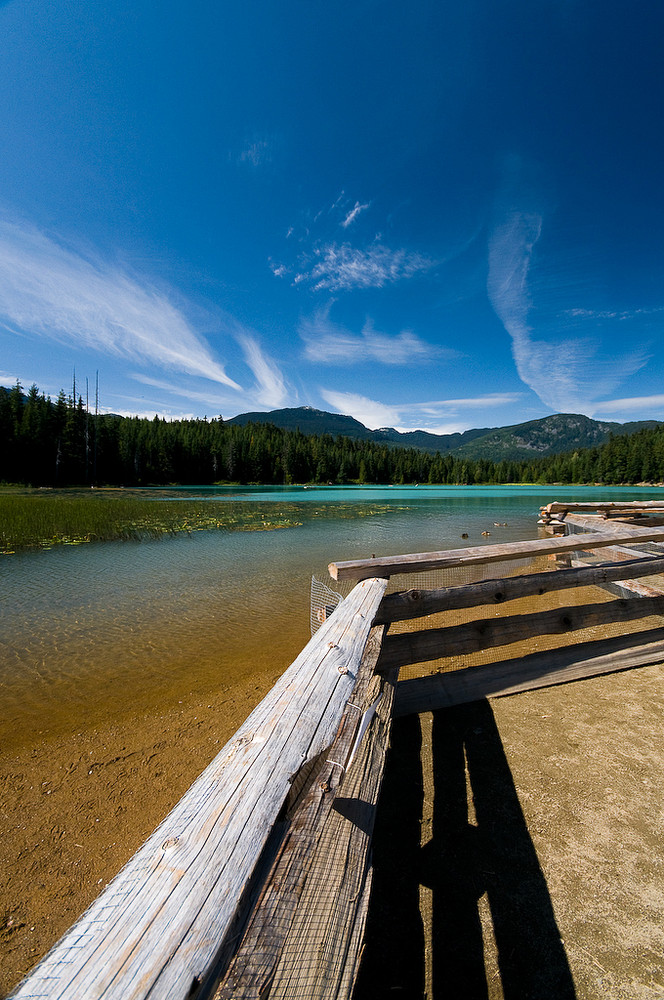 Lost Lake in Whistler, B.C., Canada