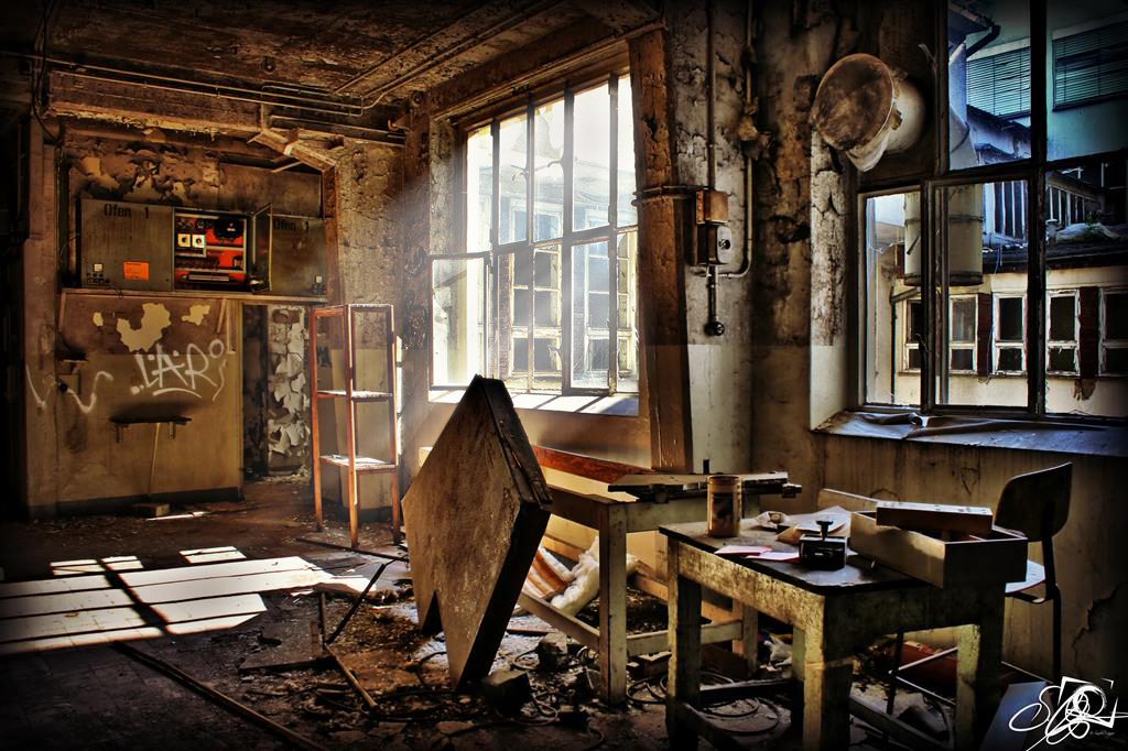 lost place alte fabrik foto bild bearbeitungs techniken hdri tm digiart bilder auf. Black Bedroom Furniture Sets. Home Design Ideas