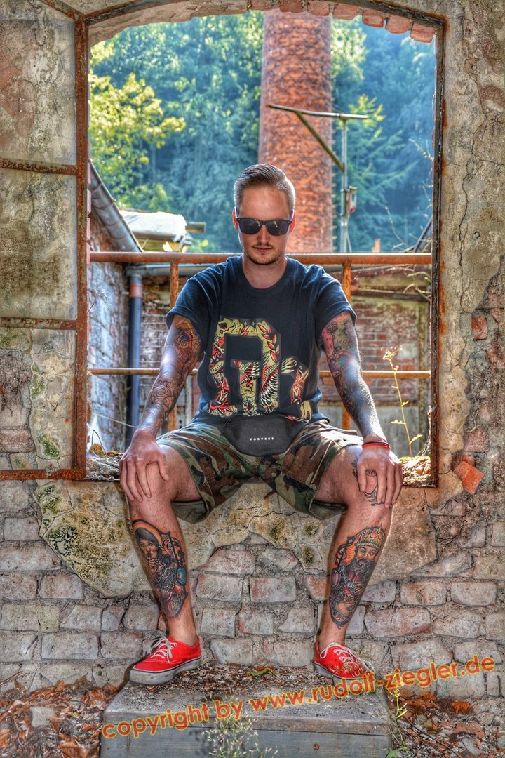 Lost Places Fotoshooting KA.R.MA