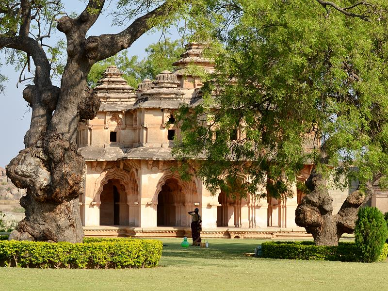Lotos Mahal in Hampi