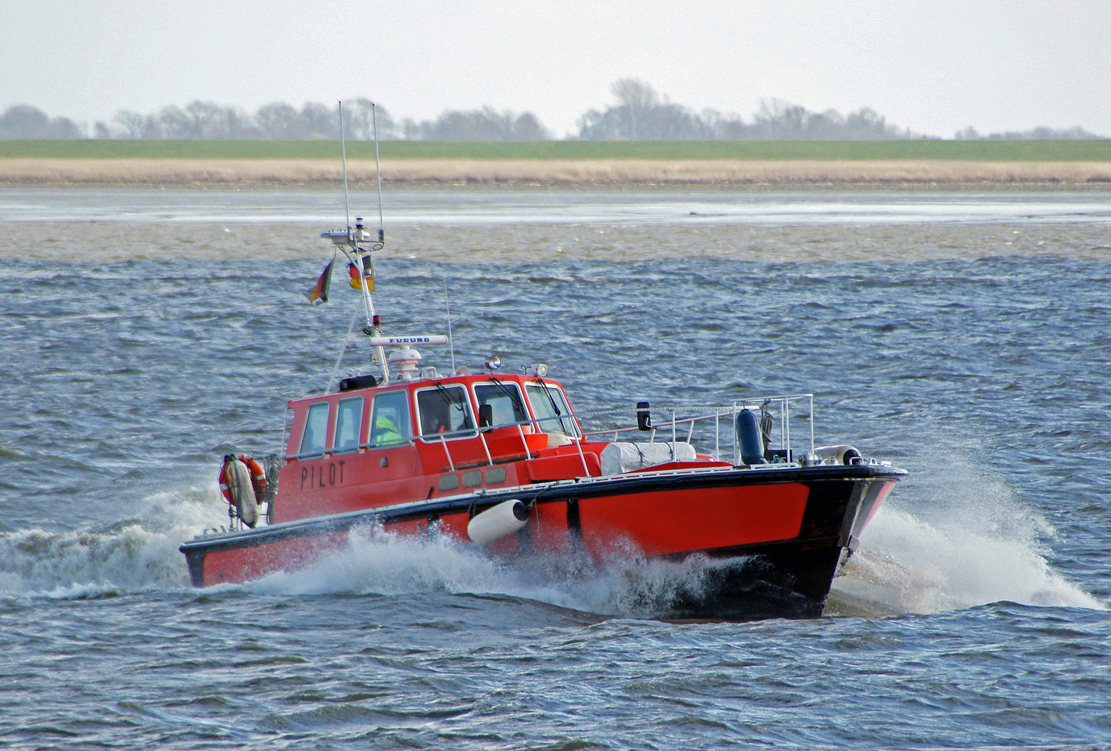 Lotsenversetzboot La Valbelle