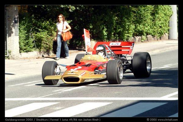 Lotus 49R6 von Jochen Rindt