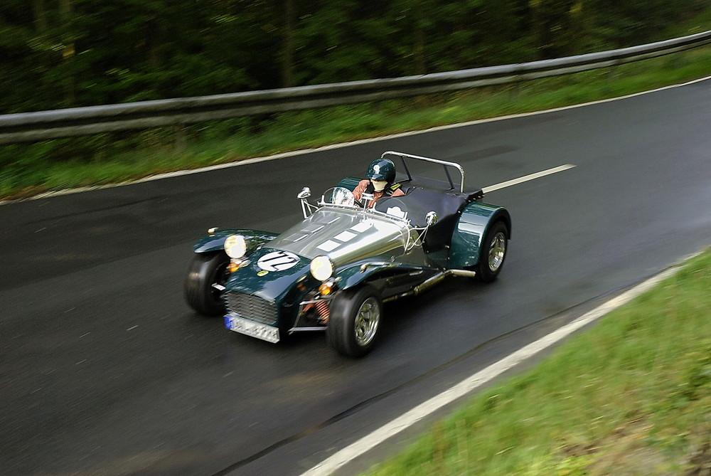 Lotus im Top Speed...