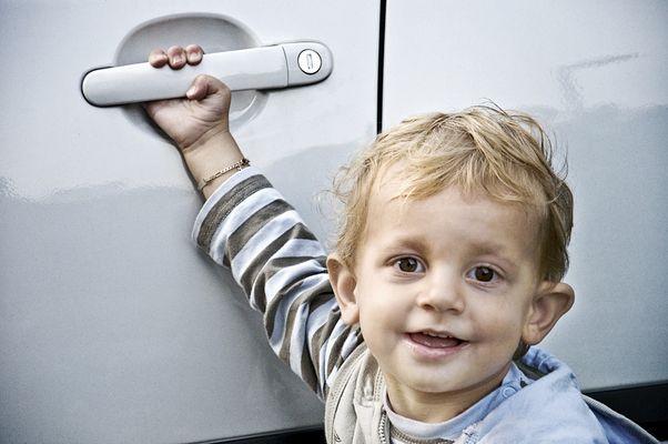 Louis und das große Auto