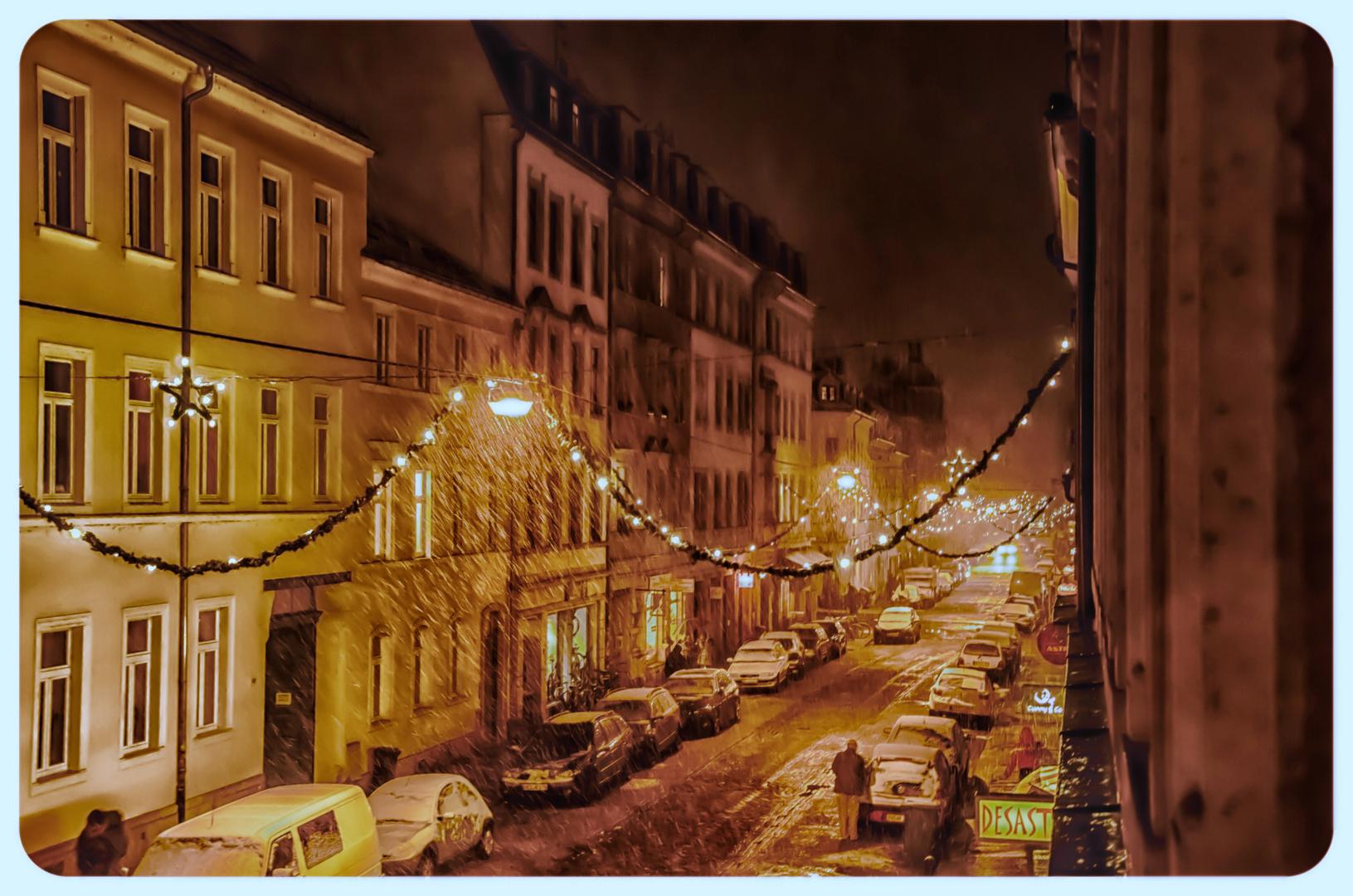 Louisenstraße...etwas Weihnachtlich