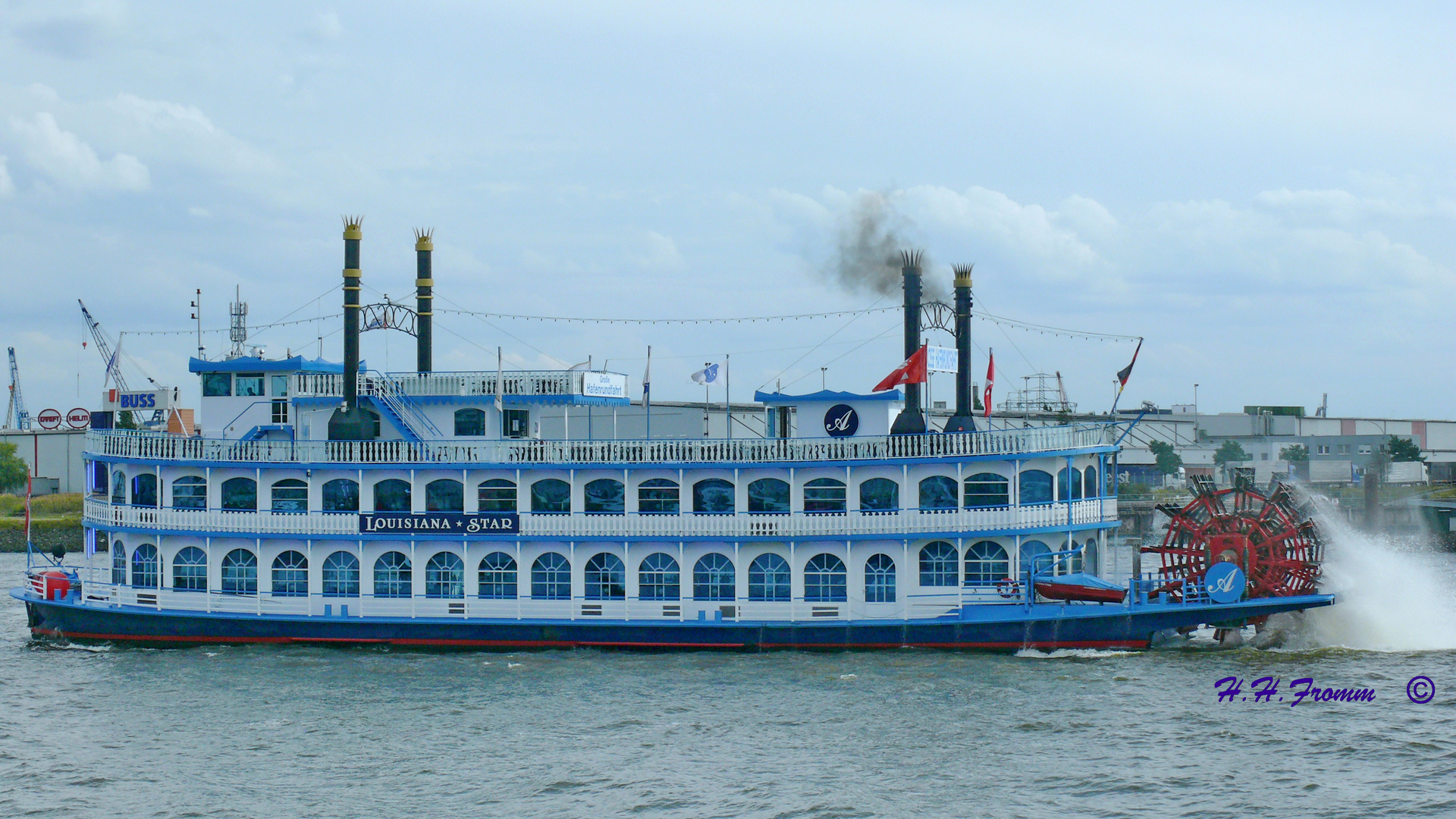 Louisiana Star - Hamburg Hafen