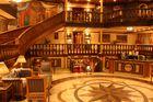 Lounge auf einem Nilschiff