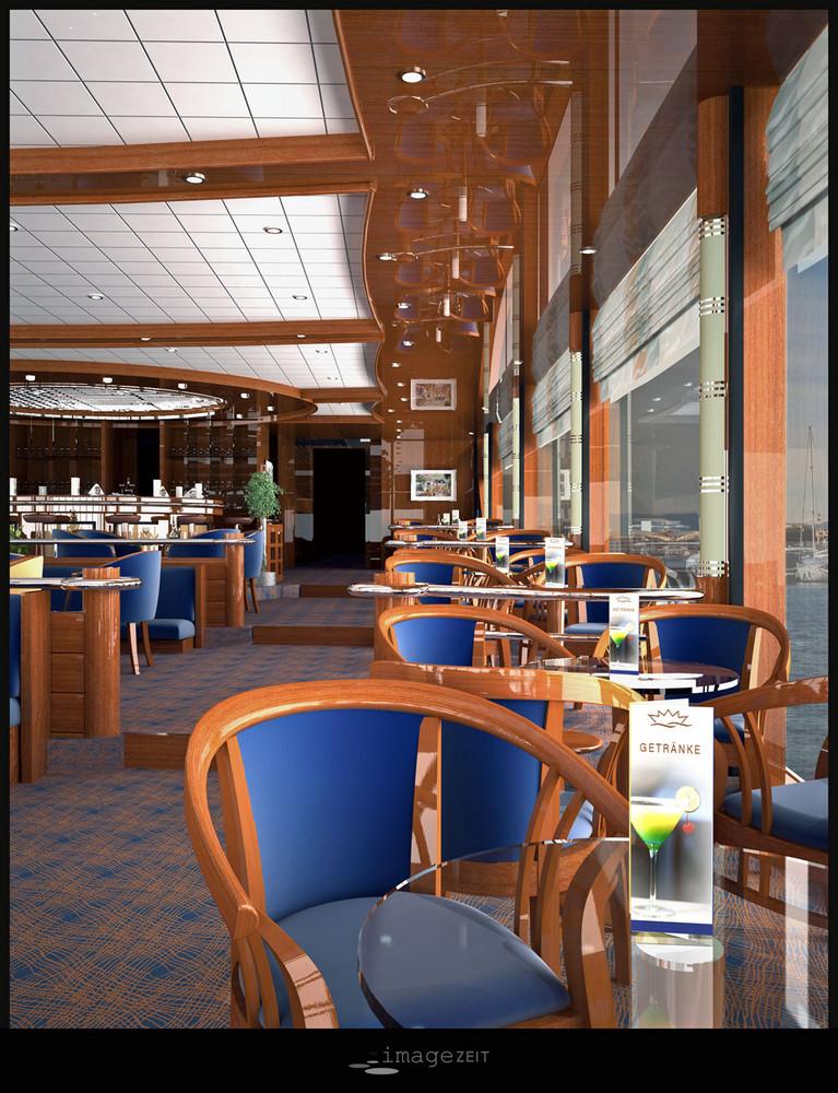 Lounge Flusskreuzfahrtschiff