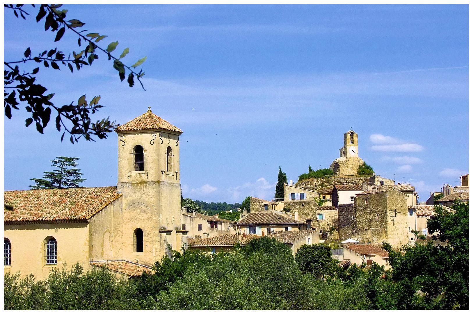 Lourmarin, le village