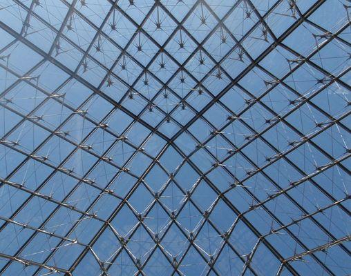 Louvre - Glaspyramide