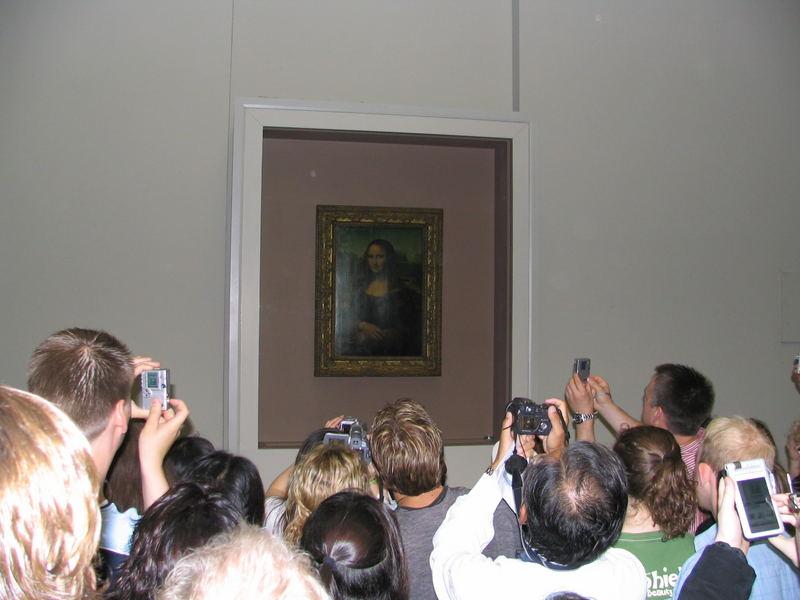 """Louvre- Paris """"Ein Bild von Mona Lisa"""""""