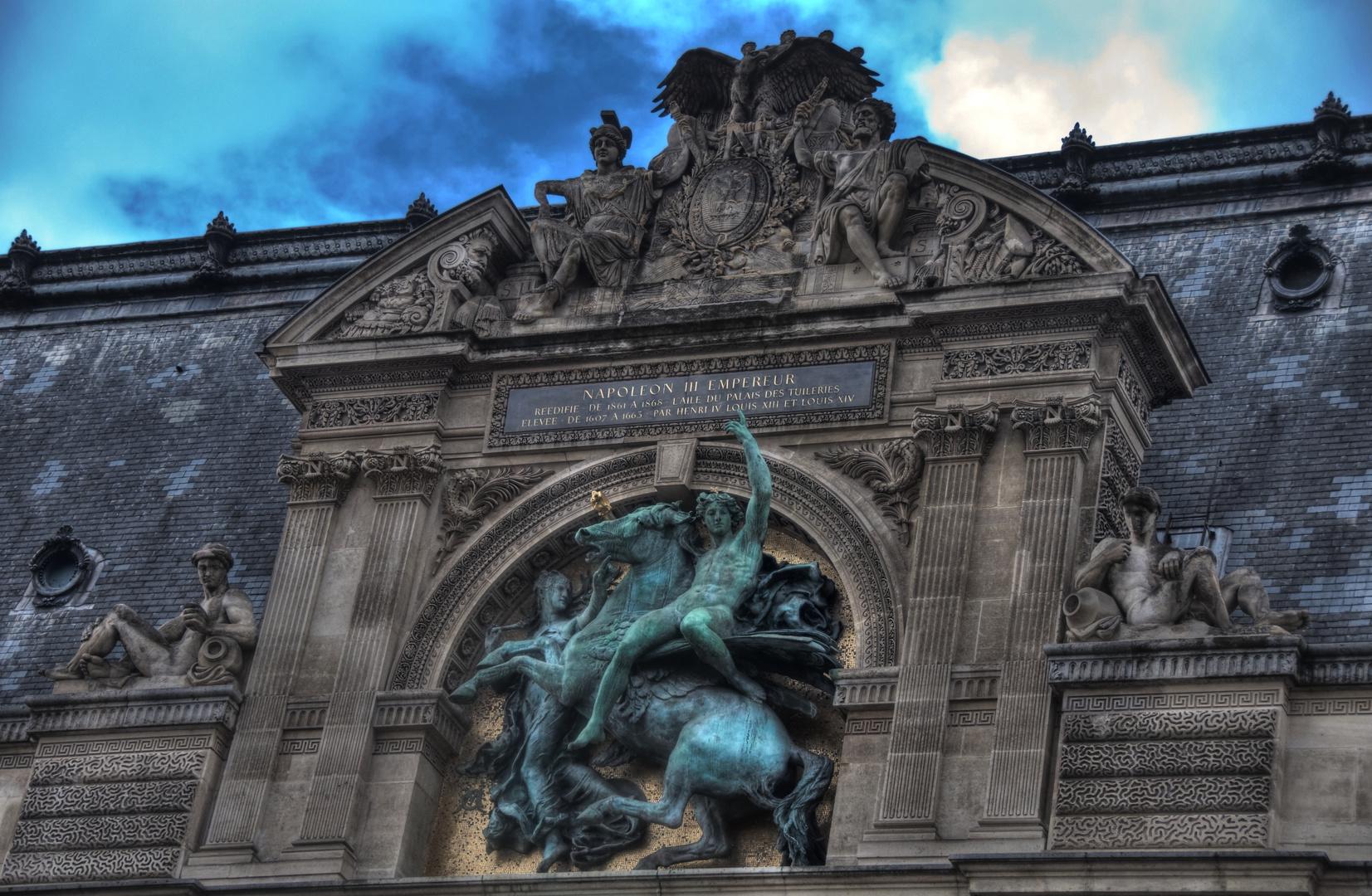Louvre, Portal zum Carrousel