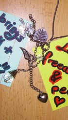 Love, freedom and peace brings luck and fun...