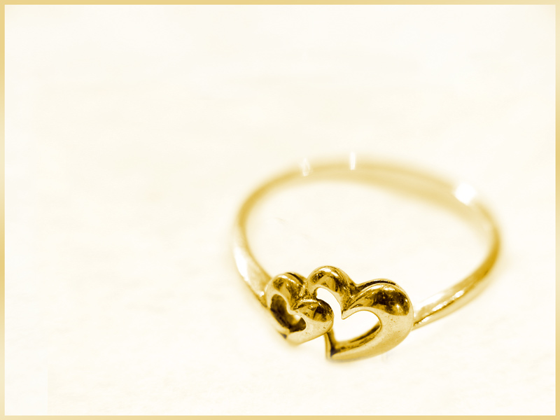 Love is like a ring...