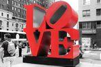 Love Sculpture - 55th Street & 6th Avenue